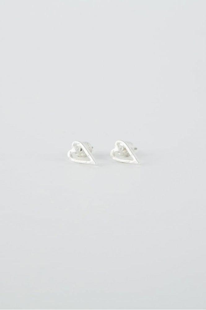 Tutti & Co Silver Faith Earrings