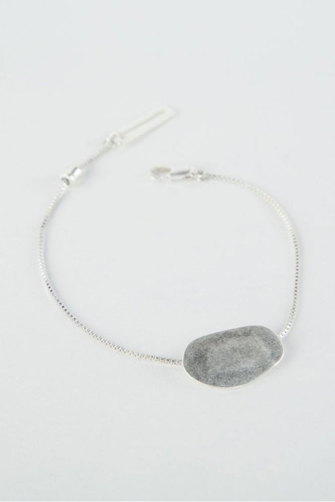 Tutti & Co Silver Pebble Bracelet