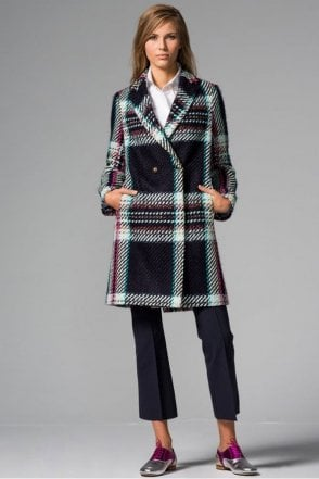 Abel Aosta Check Coat