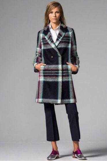 Abel Aosta Check Coat