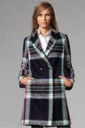 Vilagallo Abel Aosta Check Coat