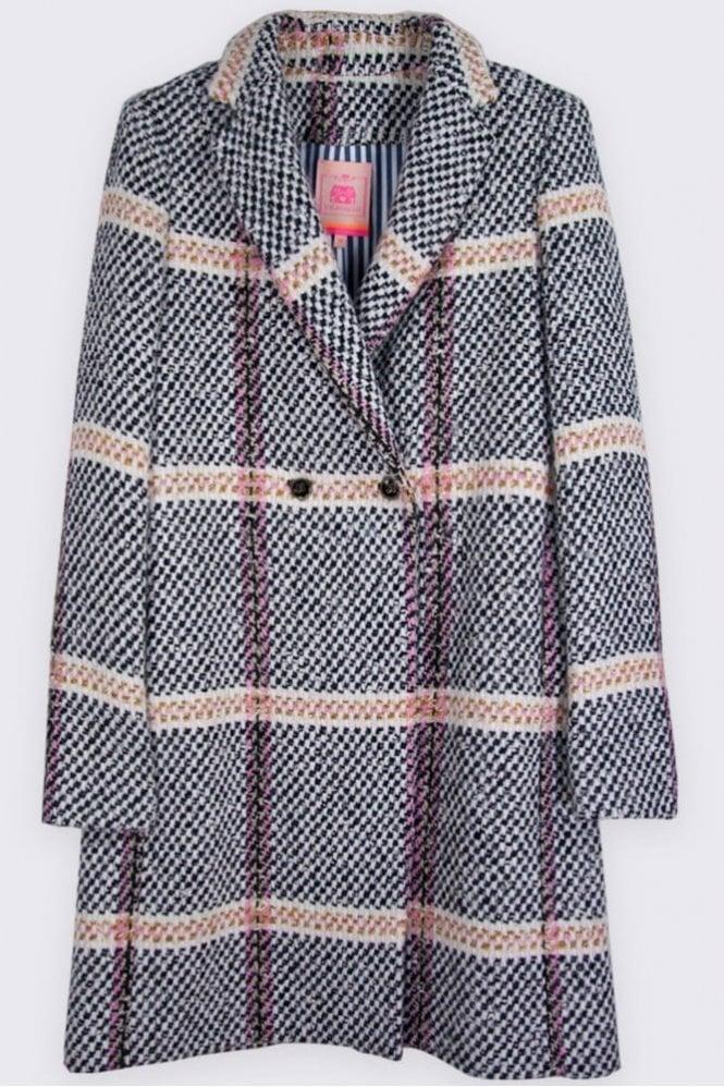 Vilagallo Abel Monaco Tweed Coat