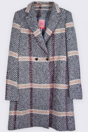 Abel Monaco Tweed Coat