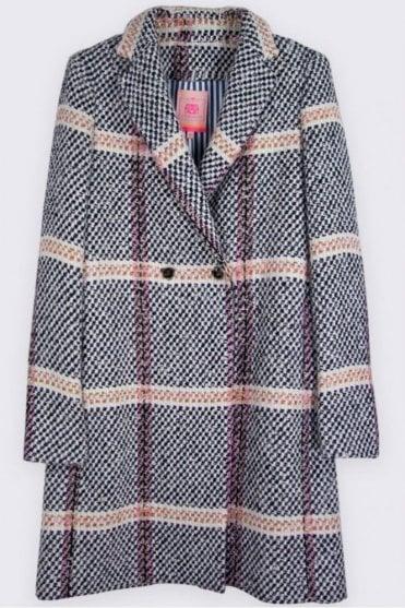 Abel Monaco Tweed Coat