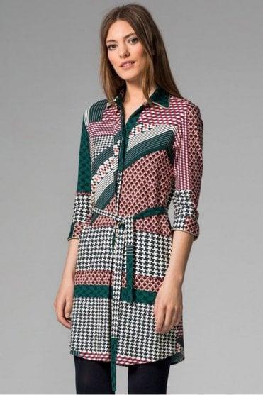 Adriana Monza Print Dress