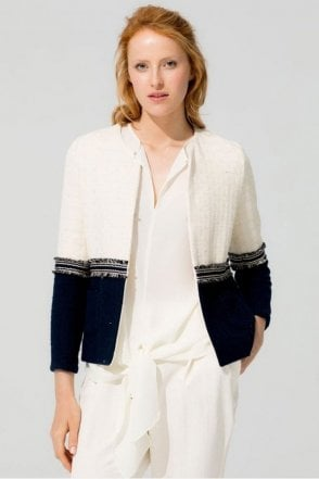 Chantal Ecru Parma Madelaine Jacket