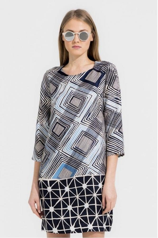 Vilagallo Class Art Print Dress