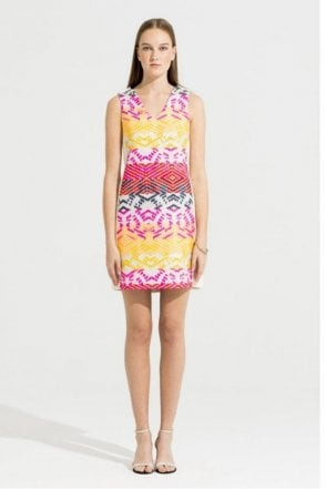 Mia Maggy Jacquard Dress