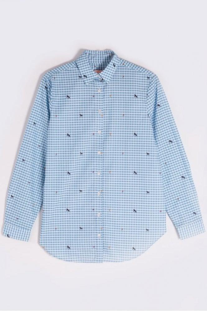 Vilagallo Natasha Ascot Vichy Shirt