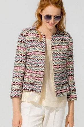 Niki Batch Jacquard Jacket