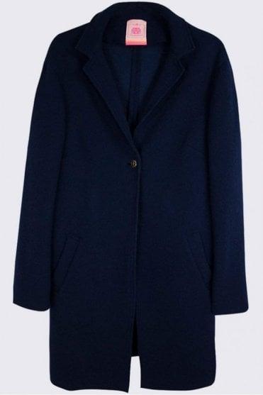 Victoria Navy Fiorentina Coat