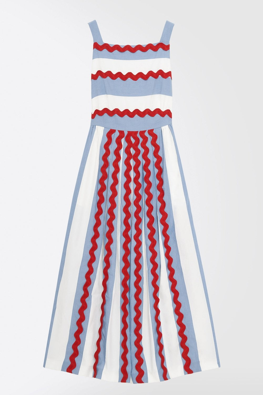 4694daec328a13 Weekend MaxMara Amica Cotton Canvas Dress at Sue Parkinson