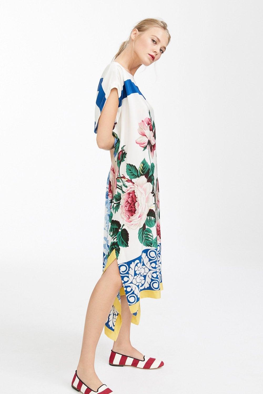 60a459824164 Weekend MaxMara Crisma Silk Crepe de Chine Dress at Sue Parkinson
