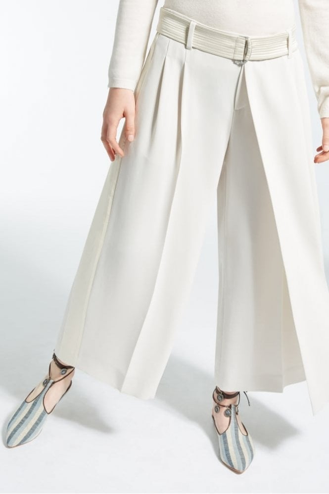 Weekend MaxMara Fasto Technical Crepe Trousers