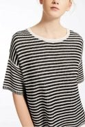 Weekend MaxMara Gang Cotton and Linen Sweater in Black