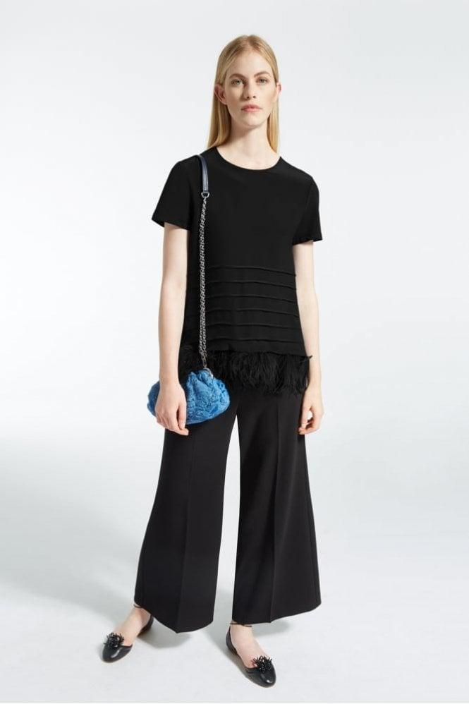 Weekend MaxMara Gerarda Technical Crepe Trousers