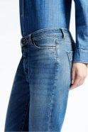 Weekend MaxMara Gio Boy-Fit Jeans in Midnight Blue