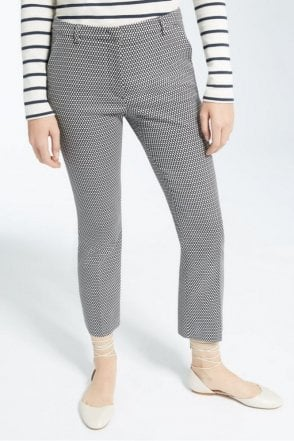 Grecia Stretch Cotton Trousers