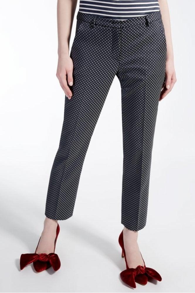 Weekend MaxMara Jacquard Trousers