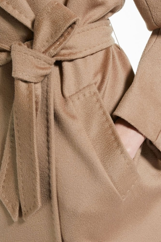 15d7ee34f733b Weekend MaxMara Katai Wool Coat in Camel at Sue Parkinson