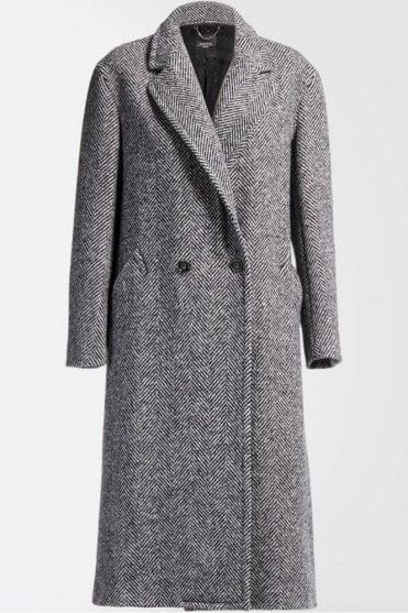 Latina Wool Coat in Black