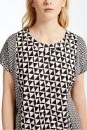 Weekend MaxMara Nectar Cotton Jersey T-Shirt in Dark Brown