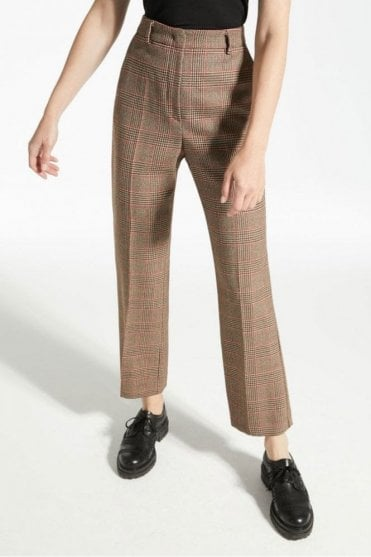 Nord Wool Twill Trousers in Caramel