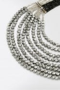 Weekend MaxMara Pearl Multi-Strand Necklace