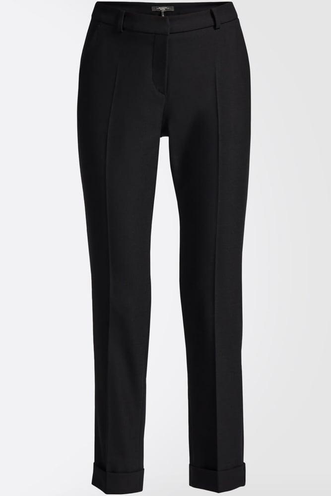 ... Weekend MaxMara Picasso Wool Blend Trousers in Black ...