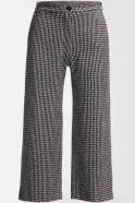 Weekend MaxMara Piero Jacquard Jersey Trousers in Black