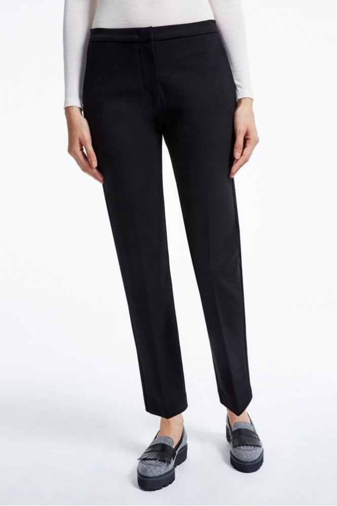 Weekend MaxMara Sila Technical Jersey Trousers in Black