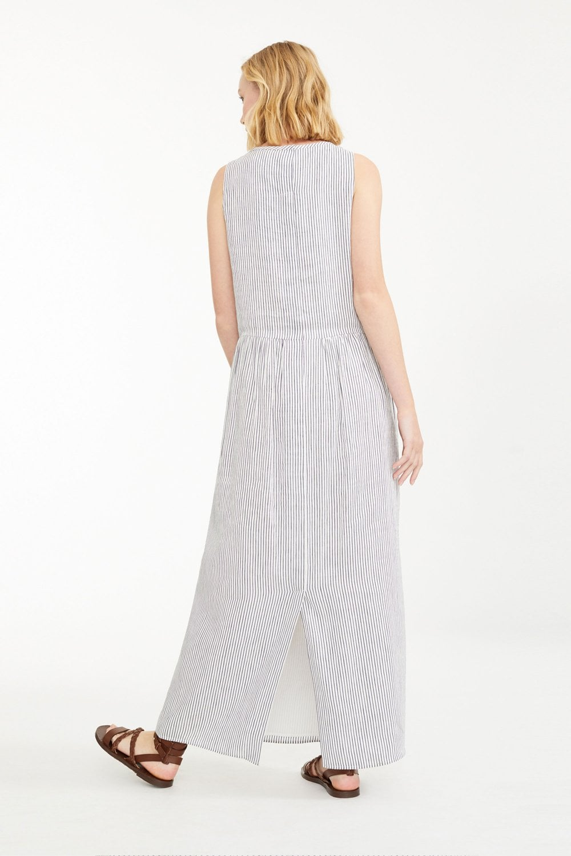 8fcda6e51b Weekend MaxMara Tenace Silk and Linen Canvas Dress at Sue Parkinson