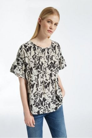 Toronto Silk Crepe De Chine Top