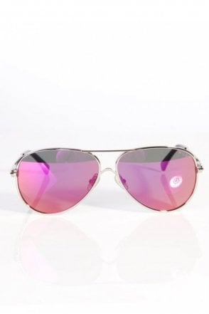 Airforx 2 Delux sunglasses Silver/Purple