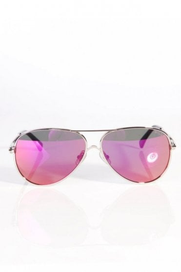 Airfox 2 Delux Sunglasses Silver/Purple