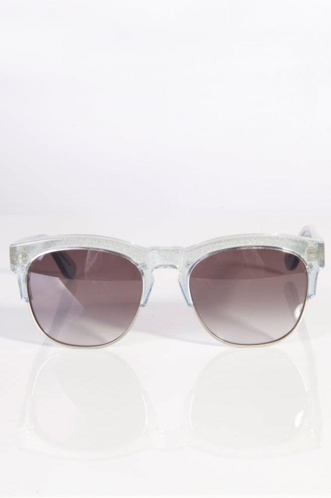 Wildfox Clubfox Sunglasses Antique Silver/Grey Gradient