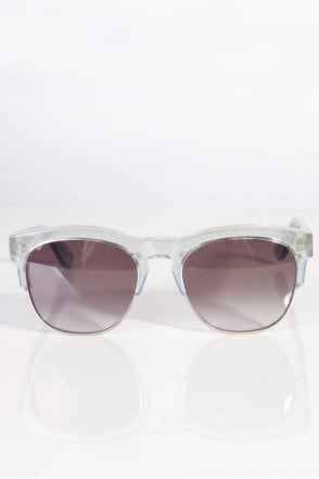 Clubfox Sunglasses Antique Silver/Grey Gradient