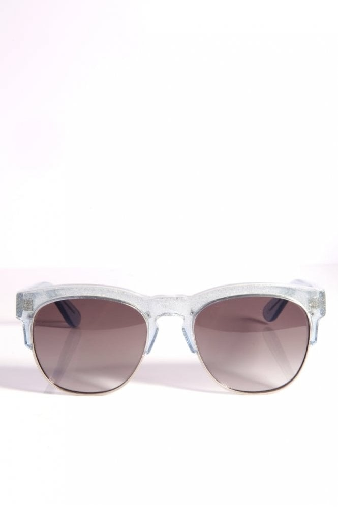 Wildfox Clubfox Sunglasses Crystal in Cove/Antique