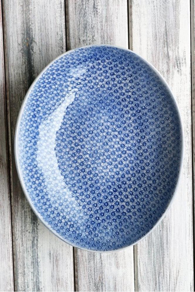 Wonki Ware Etosha in Starburst Cornflower Blue