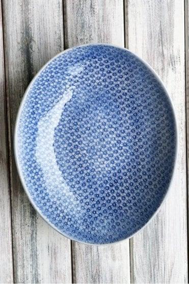 Etosha in Starburst Cornflower Blue