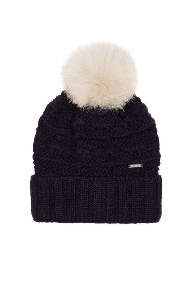 Woolrich Serenity Hat in Dark Navy