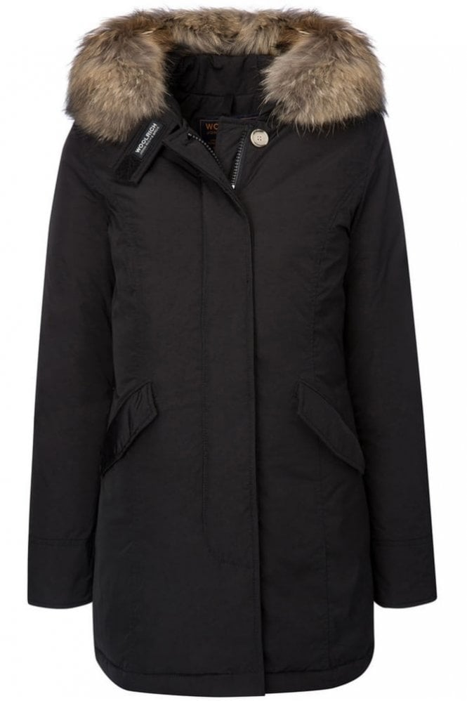 Woolrich W's Luxury Arctic Parka in Black