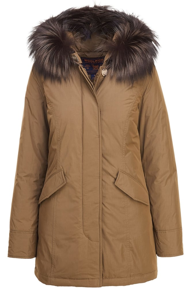 woolrich w 39 s luxury arctic parka in alpha taupe at sue parkinson. Black Bedroom Furniture Sets. Home Design Ideas